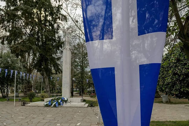 Αποκλεισμός των πολιτών από την κατάθεση στεφάνων στη Δράμα