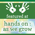 featured at hands on : as we grow