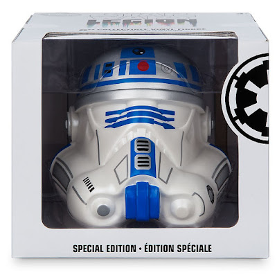 "Star Wars Day 2017 Exclusive R2-D2 Edition Star Wars Legion Stormtrooper Helmet 6"" Vinyl Figure"