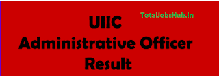 UIIC AO Result 2017