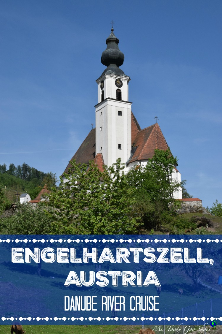 Engelhartszell is one of many picturesque towns in Austria | Ms. Toody Goo Shoes #austria #danuberivercruise #engelhartszell