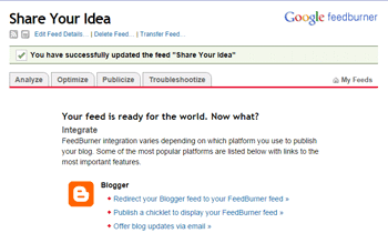 setting rss feed 5