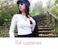 pull cachemire