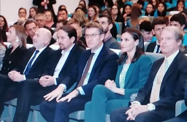 """El vicepresidente Iglesias ironiza sobre la noticia de su """"no saludo"""" a la reina Letizia"""