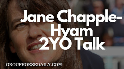 Jane Chapple-Hyam 2yo horse trainer