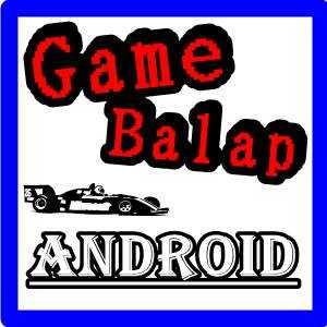 ilustrasi tulisan game balap android