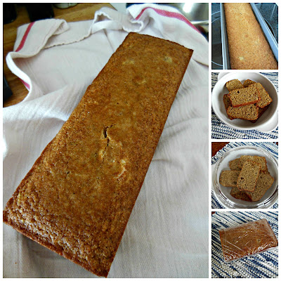 Whole Grain Banana Bread with Lime, start to finish.