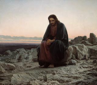 Ivan Kramskoy's 1872 Christ in the Wilderness