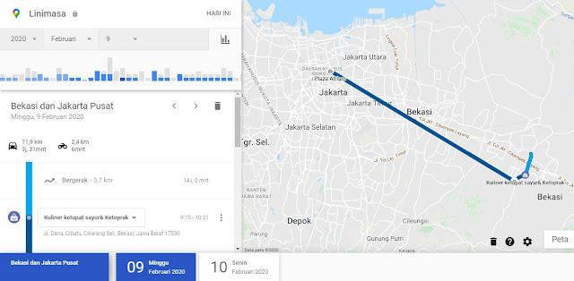 google tahu kamu pergi kemana saja