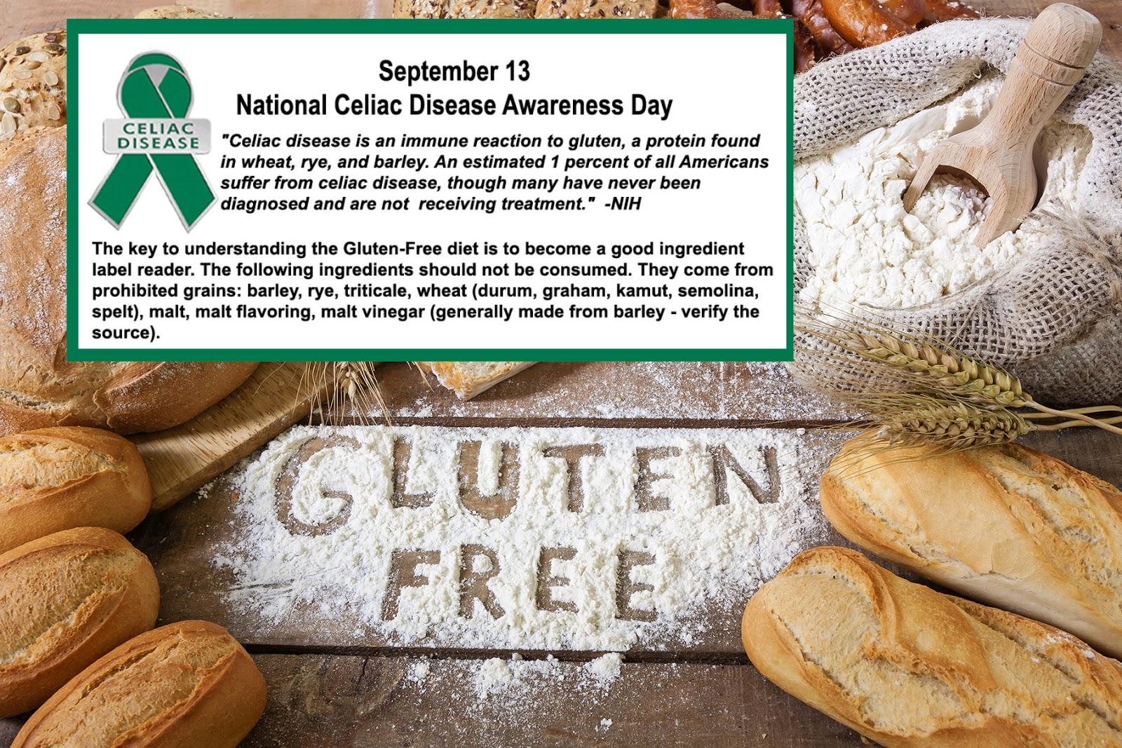 Dietitians Online Blog: September 13, National Celiac ...