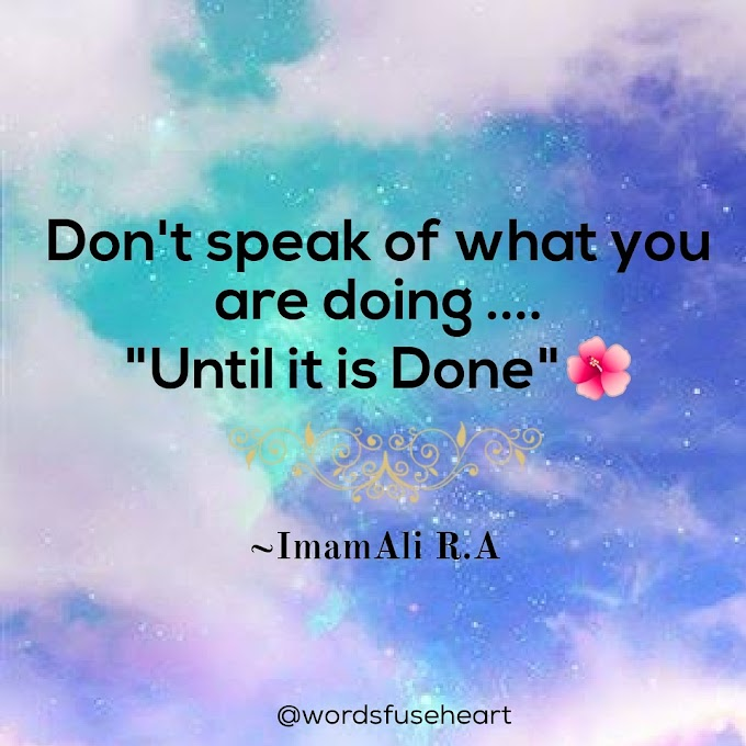 Motivational Quote about Speaks