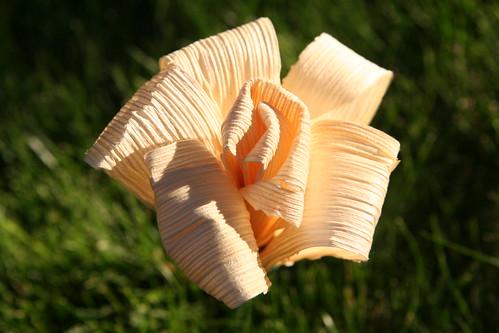 kerajinan bunga kulit jagung