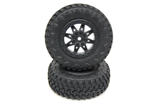 Axial Exo Terra wheels and tires