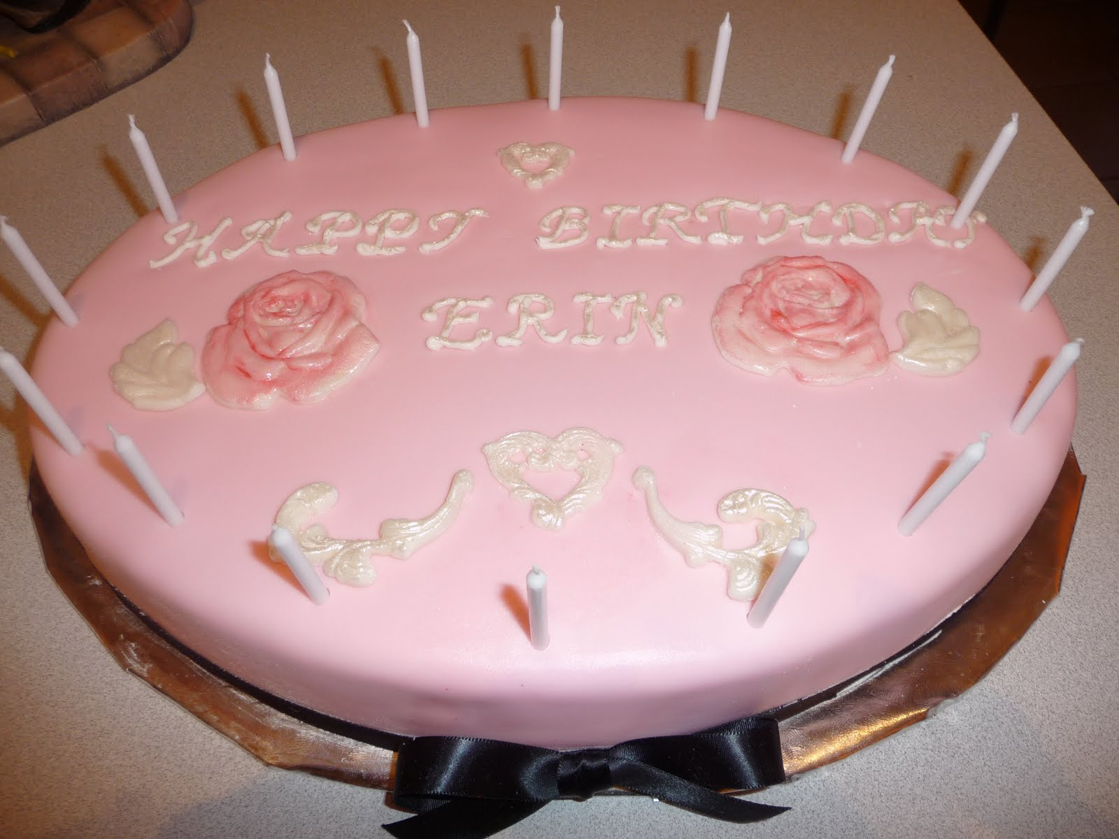 Icing On Top Cakes For Every Occasion Pink And Iridescent Rose