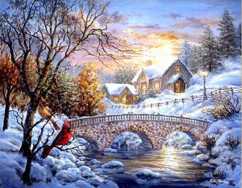 Scenery Images: Photos Paysages De Noel Gratuites