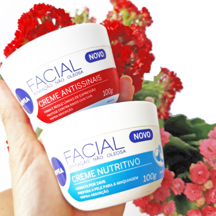 Nivea Creme Antissinais e Nivea Creme Facial Nutritivo - entenda as diferenças entre eles!