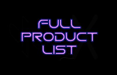 dpFX Full Product List