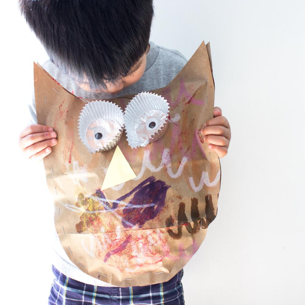 Easy Stuffed Owl Craft For Kids Pink Stripey Socks