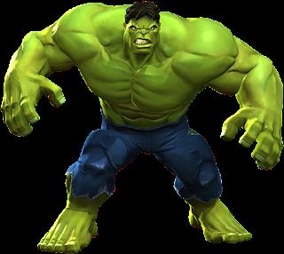 Why Hulk is green?