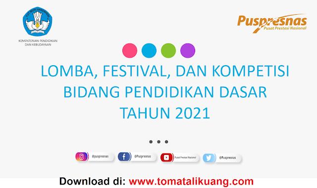 lomba festival kompetisi sd smp tahun 2021 tomatalikuang.com