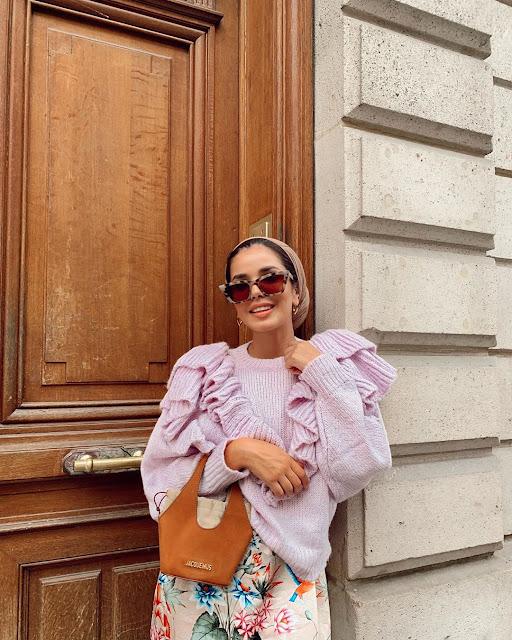 طرق أنيقة لارتداء النظارات الشمسية للحجاب