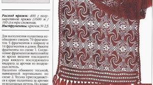 Original diseño al crochet para esta bella estola