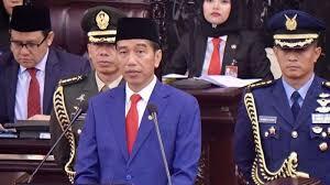 Bidoata presiden Jokowi Joko widodo