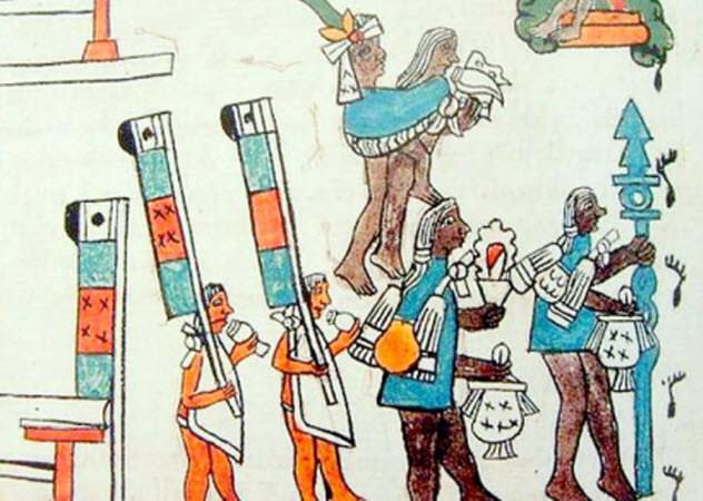 pengorbanan jiwa untuk dewa aztec