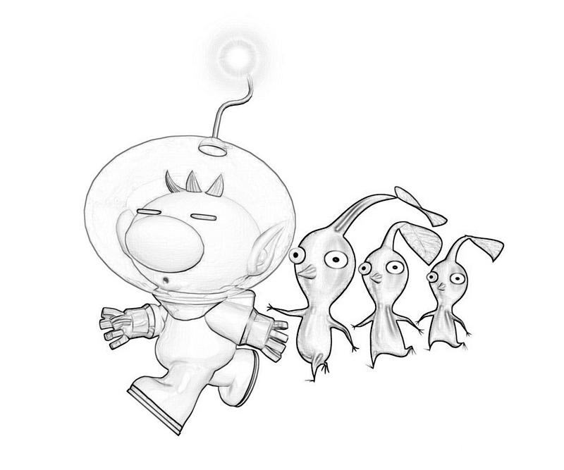 rock pikmin coloring pages - photo#4