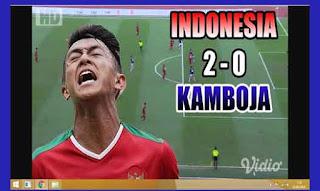 Video Highlight Indonesia vs Kamboja 2-0 Sea Games 2017