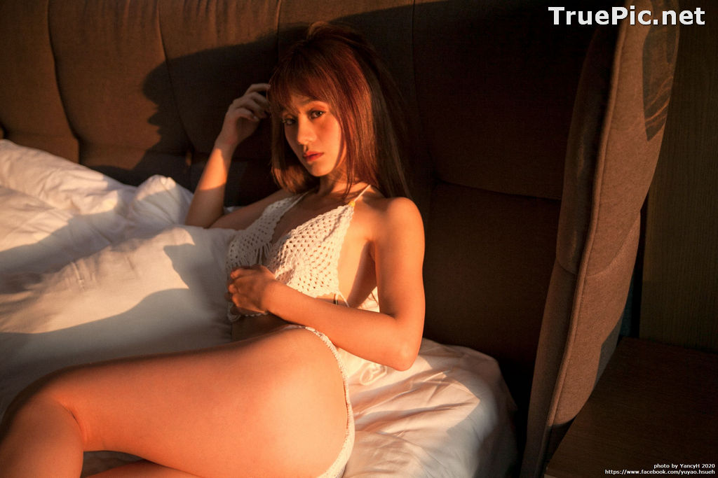 Image Taiwanese Model - Xin Ya - White Lace Lingerie For You - TruePic.net - Picture-7