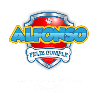 Logo de Paw Patrol: Alfonso