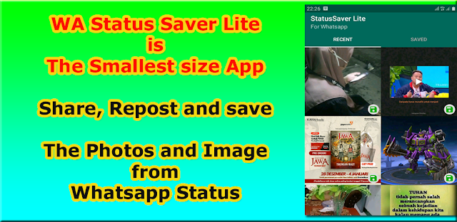 WA Status Saver Lite Apk free Download