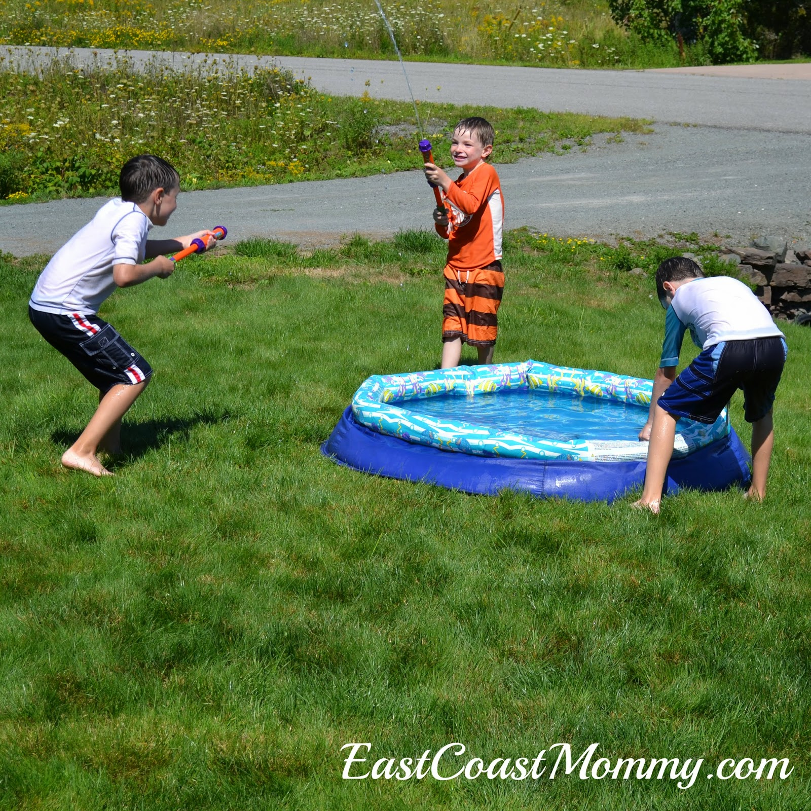 east coast mommy simple backyard water park