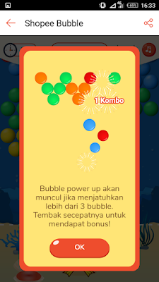 trik combo game shoppe bubble