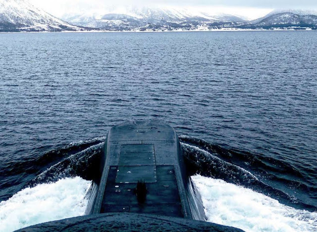 Como es exigente curso de Comandante de Submarinos de la Armada Noruega