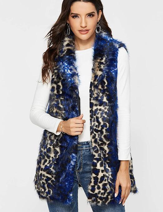 Best Leopard Faux Fur Vest