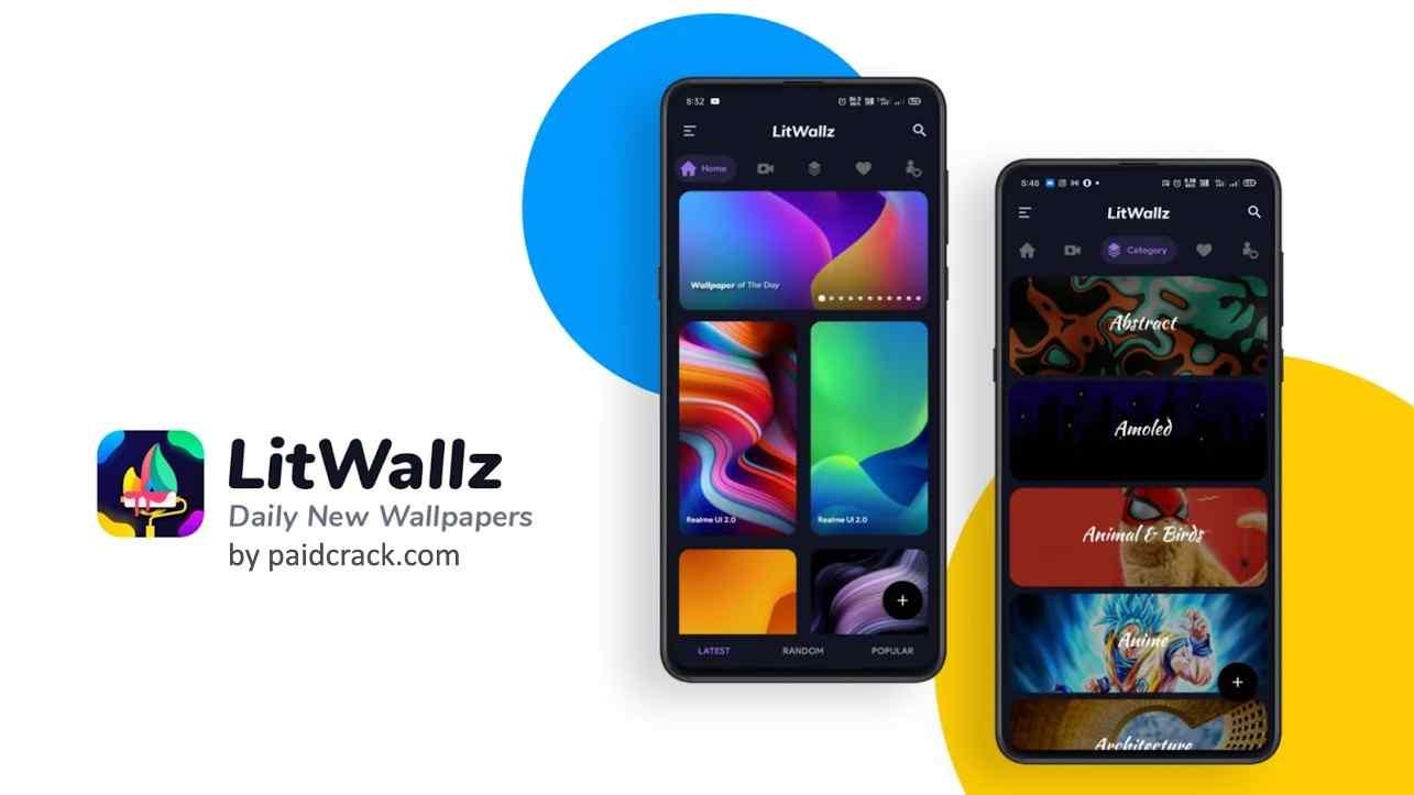 LitWallz - 4K, HD & Live Wallpapers Premium Mod Apk 7.0