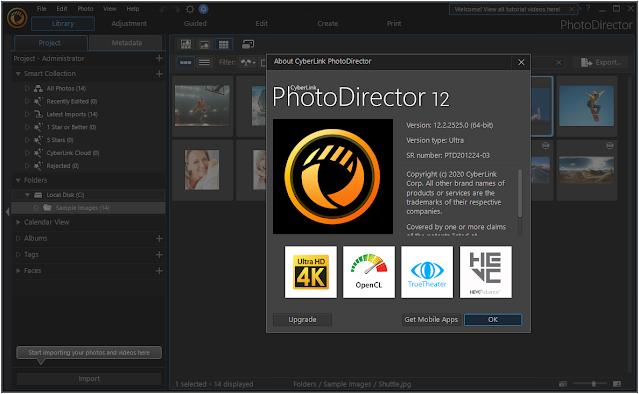 CyberLink PhotoDirector Ultra v12.3.2724.0 Full version