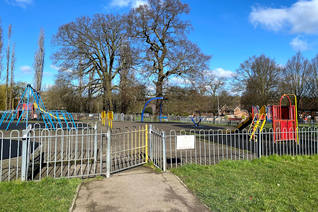 Newmans Lane playground in Loughton