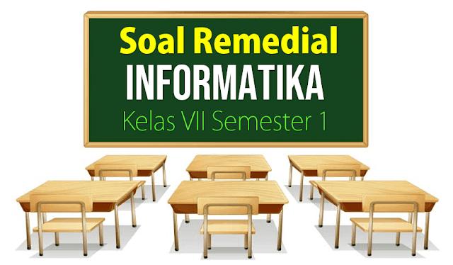 Soal Remedial Informatika Kelas VII
