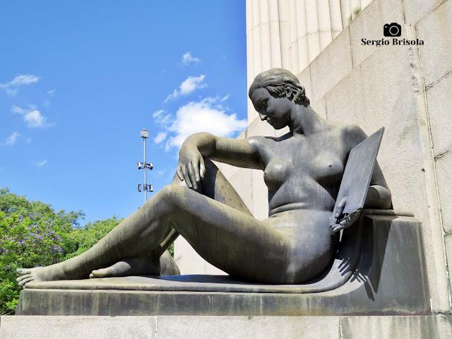 Musa da Pintura - Monumento a Ramos de Azevedo