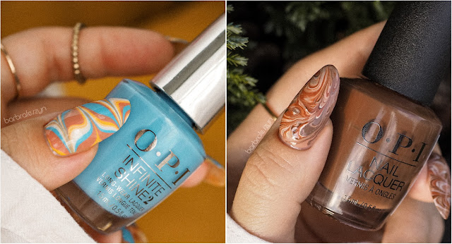 OPI water marble