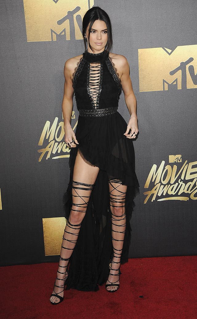 Kendall Jenner Won The MTV Red Carpet
