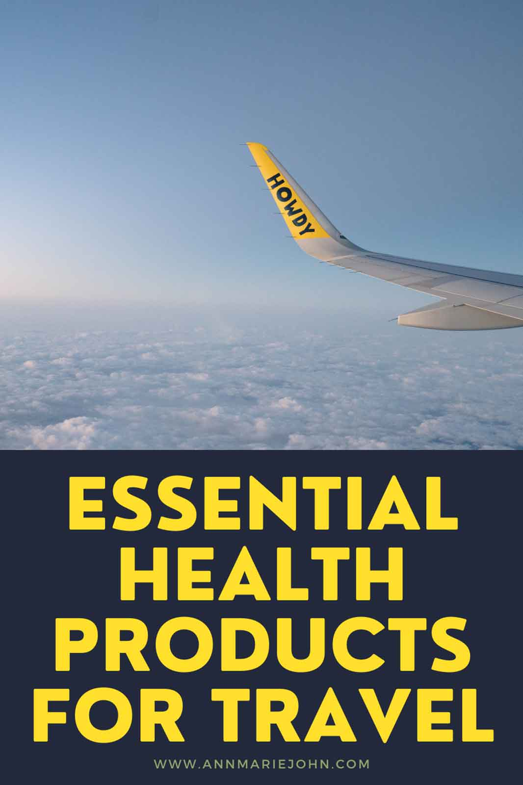 Essential Health Products That You Need To Bring When Traveling