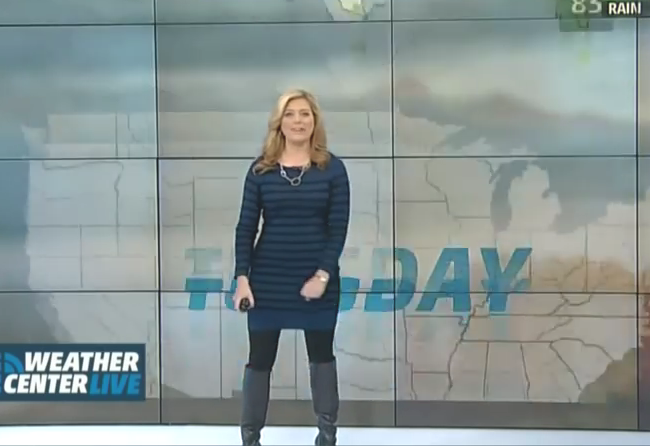 the weather channel women meteorologists