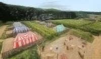 Knight's Glamping, Leads Castle, Kent, UK