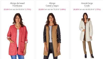 abrigos anoraks baratos