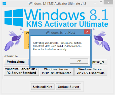 Windows 8.1 Pro Activator by KMS Free Download Full Version