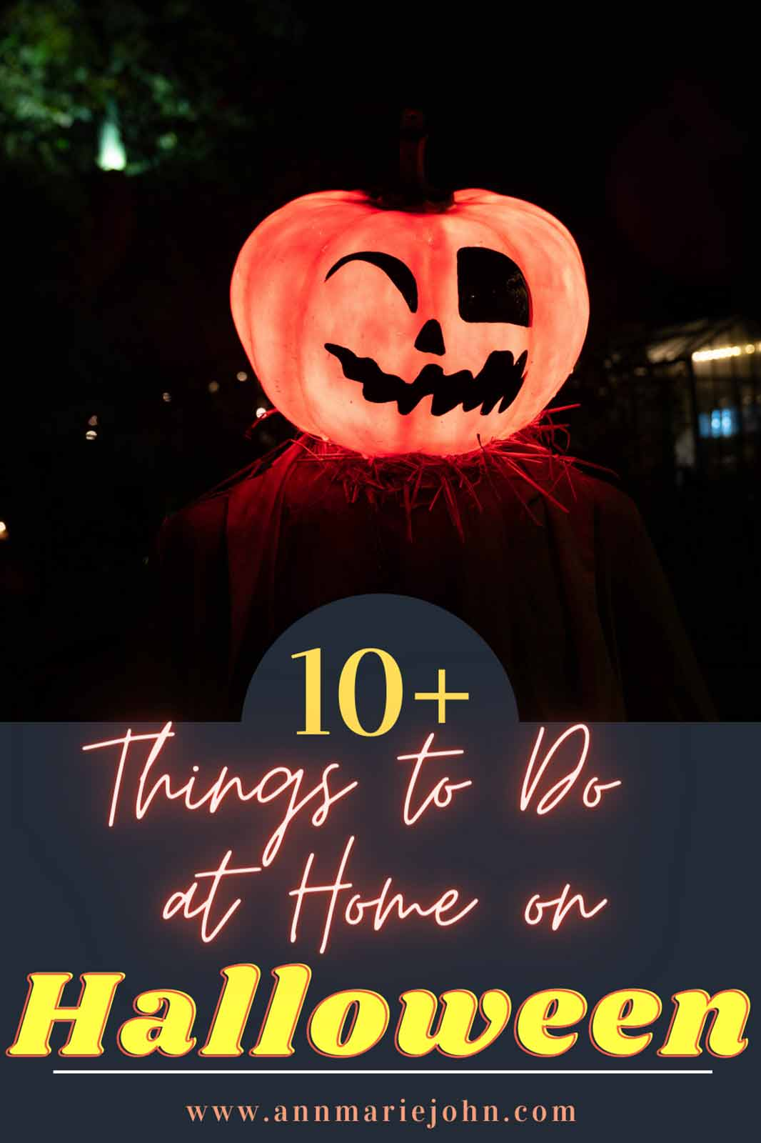Things To Do At Home On Halloween